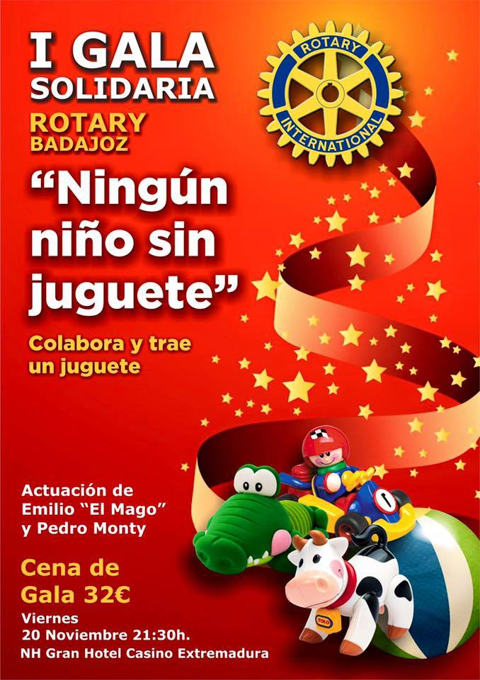 I gala solidaria Ningun Niño Sin Juguete