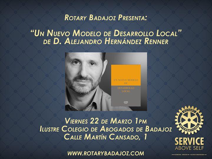 Presentacion Libro Alejandro Renner