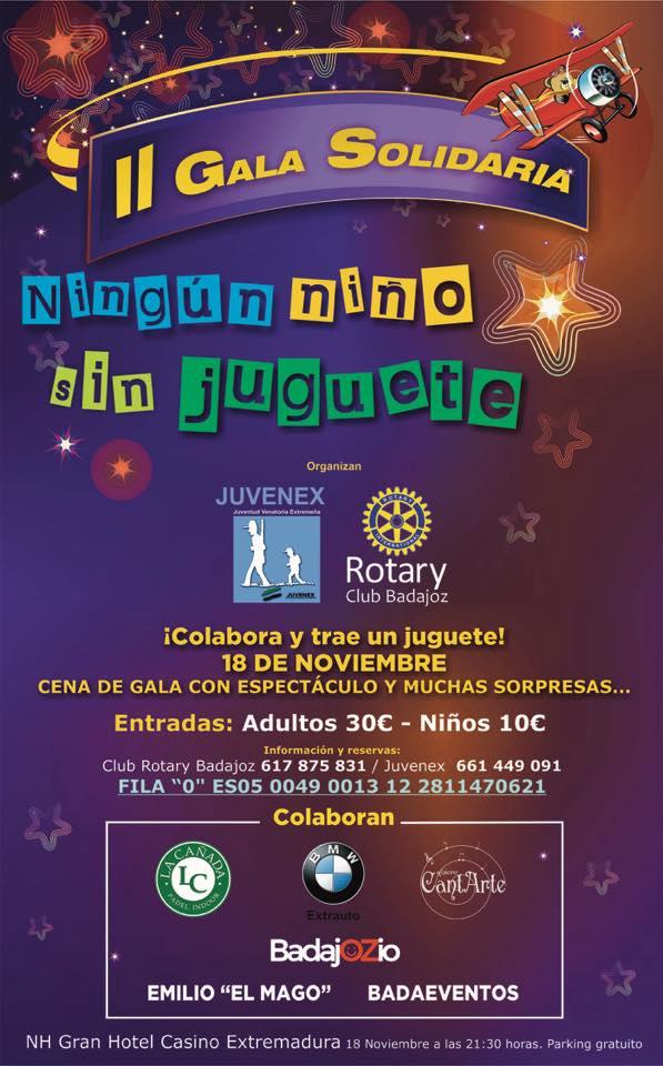 Ningún Niño Sin Juguete II Gala Solidaria